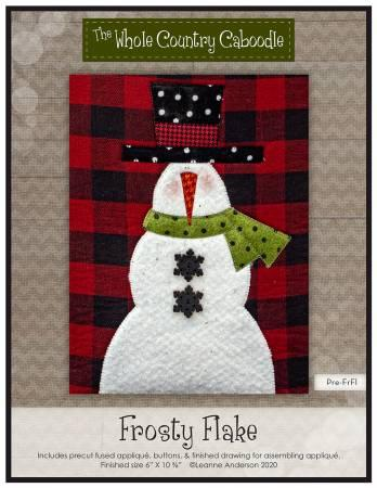 Frosty Flakes Precut Fused Applique Pack