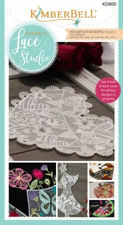 Kimberbell Lace Studio Embroidery CD
