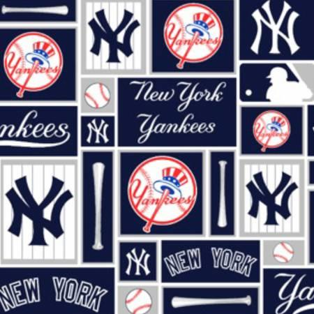 MLB Cotton New York Yankees Blocks