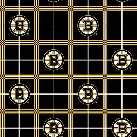 NHL Hockey-Bruins Flannel