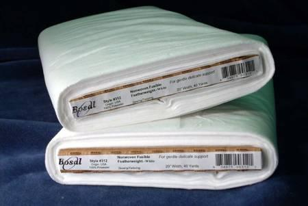 Non-Woven Fusible Feather Weight White