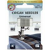 Organ Needles Microtex Size 80/12 Eco Pack