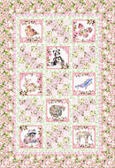 Pretty In Pink Quilt Pattern