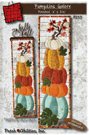 Pumpkins Galore Pattern with Hello Fall Hanger