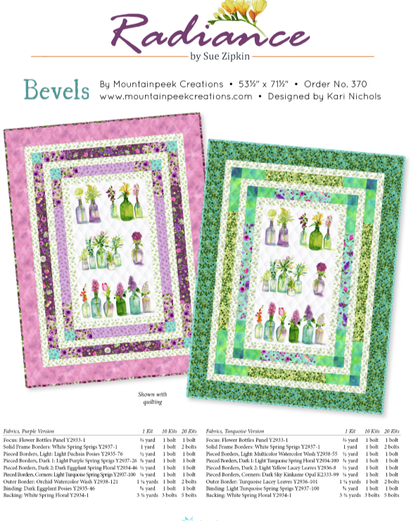 Radiance - Bevels Quilt Kit