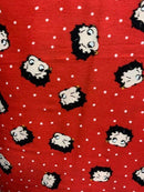 Red White Betty Boop Dots