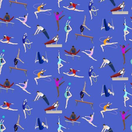 Royal Gymnastics Digital Print