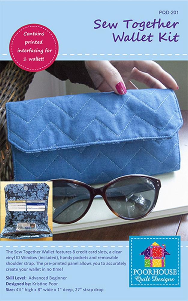 Sew Together Wallet Kit