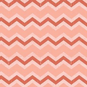Snarky Cats Chevron Pink