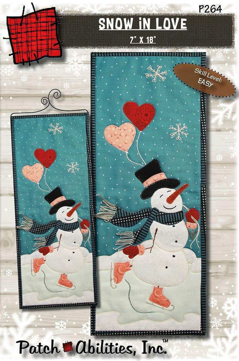 Snow In Love Pattern & Hanger
