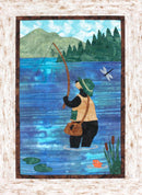 The Fishin' Bear Quilt Kit