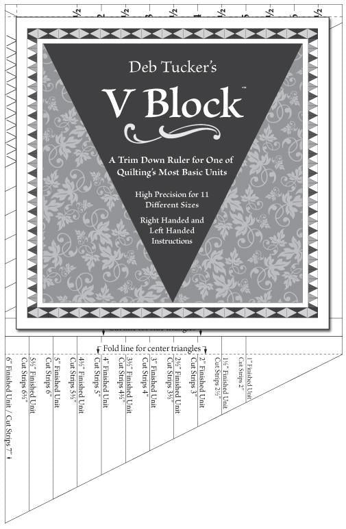 V Block Trimmer - Deb Tucker