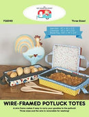 Wire-Framed Potluck Totes