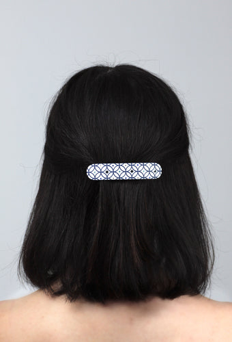 Santorini Hair Barrette Encrusted with Swarovski® Crystals