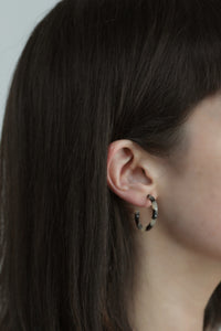 Small Tortoiseshell Earrings