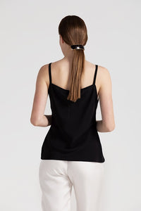 Canottiera silk top