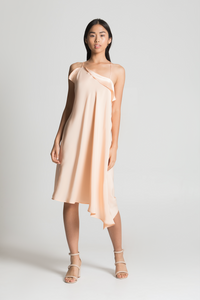 Refraction Silk Dress