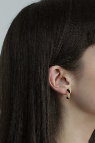 Sleeper Tortoiseshell Earrings