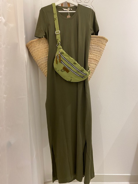 Kjole - Rebekka Dress - Army