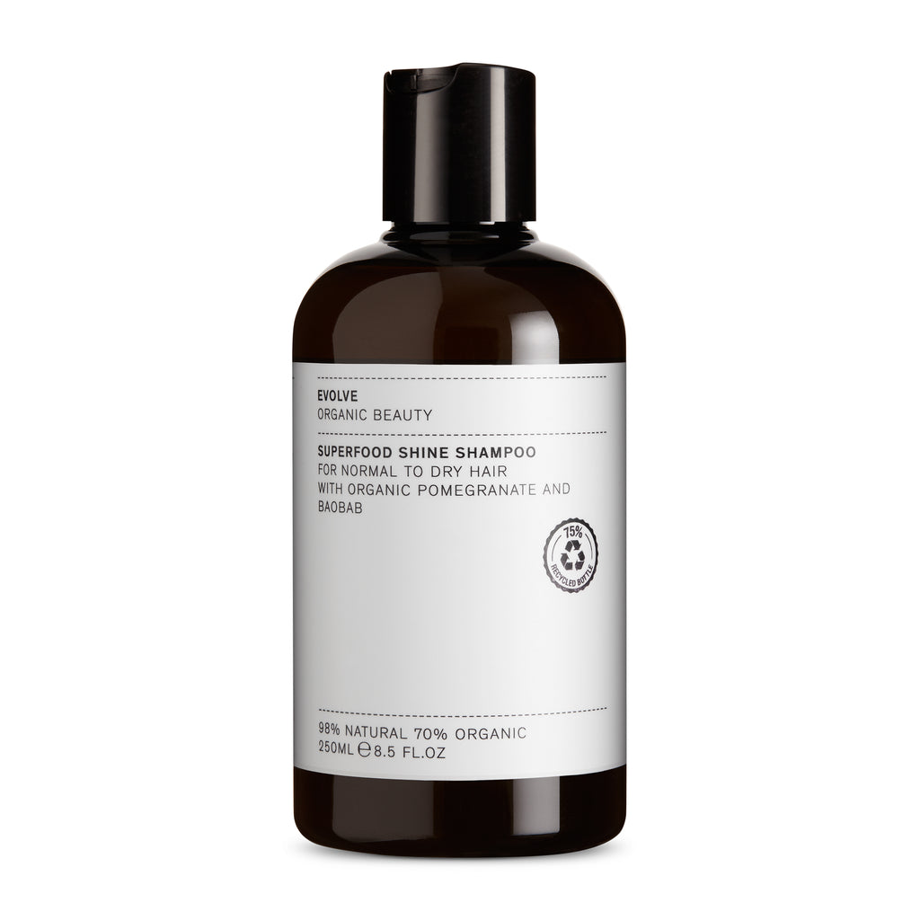 Superfood shine shampoo