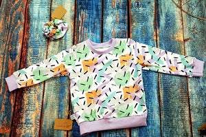 Confetti Long sleeve Top