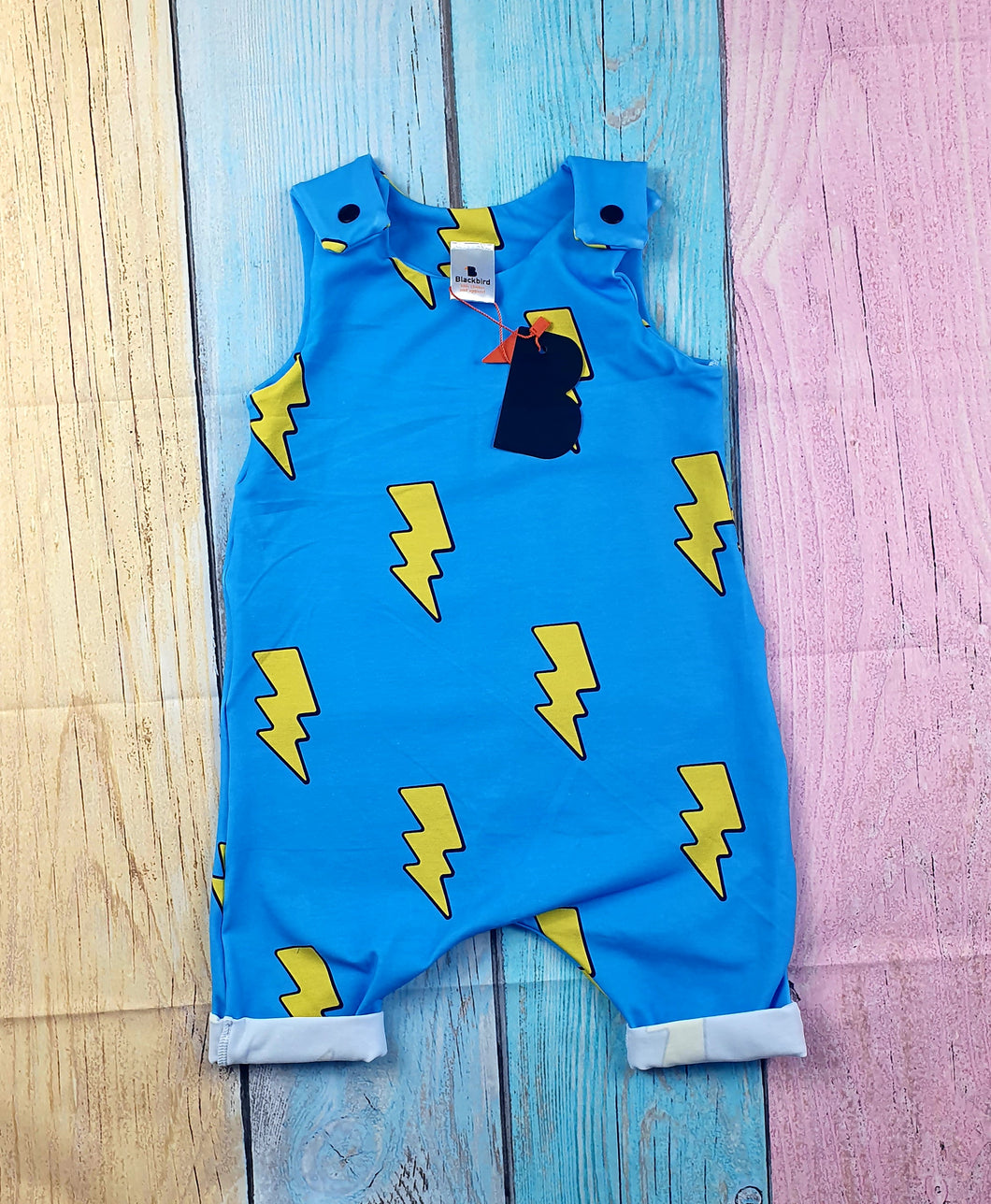 Lightning Bolt Shortie Romper