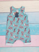 Load image into Gallery viewer, Tiger Fury Shortie Romper