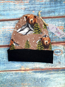 Mountain Bear Beanie