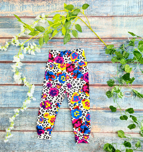 Wild Flower Leggings