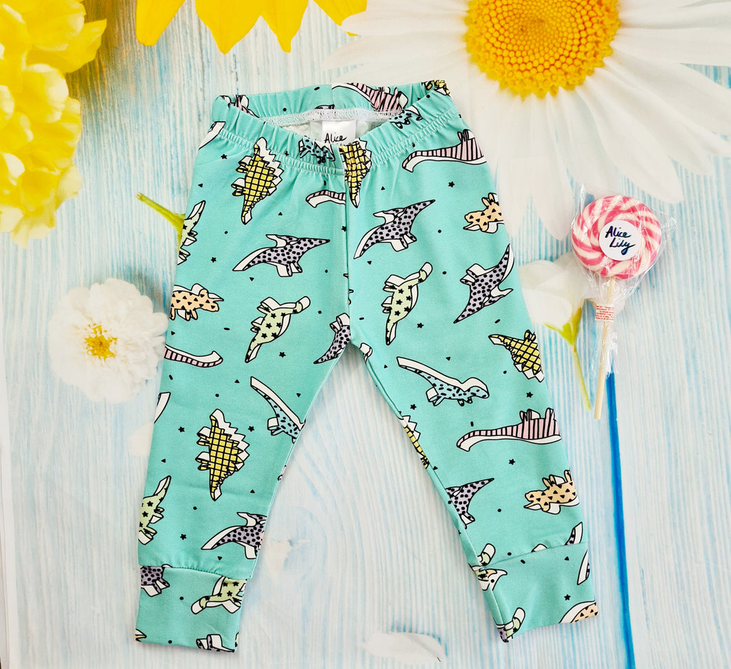 Retro Dinos Leggings