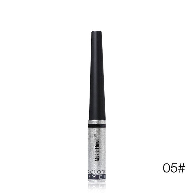 Brighten Eyes with Shimmery Liquid Glitter Eyeliner - Waterproof and Long Lasting