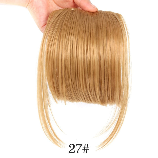 Cute Front Fringe Bangs - Clip on hair extensions