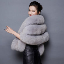 Load image into Gallery viewer, Faux Fox Fur Wrap