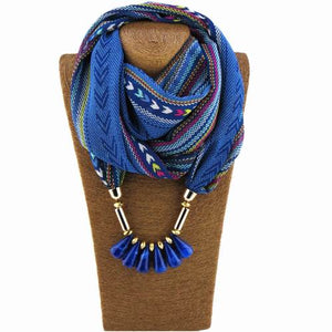 Bohemia Jewelry Scarf Necklace