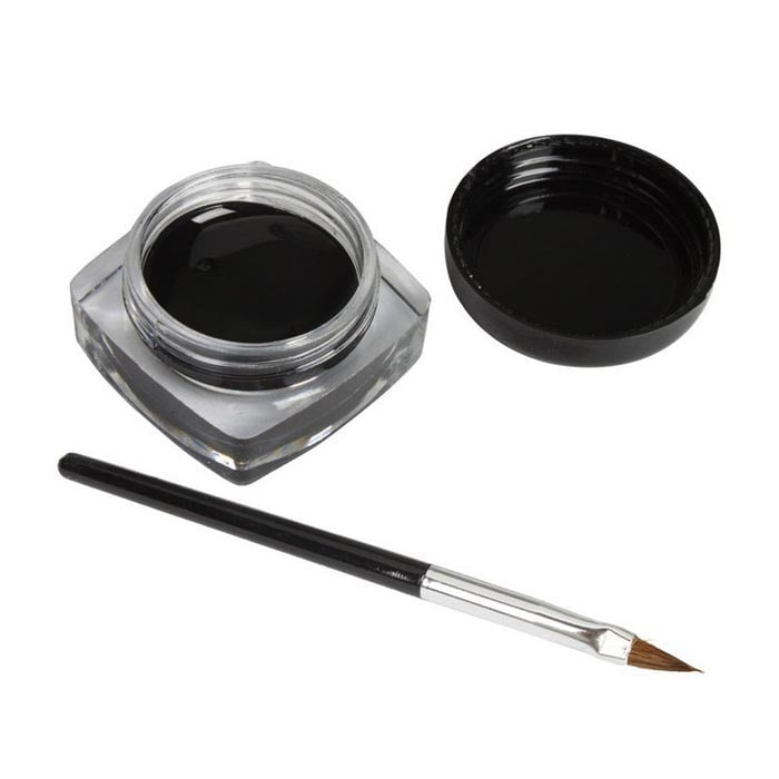 Gel Eyeliner Cream With Brush