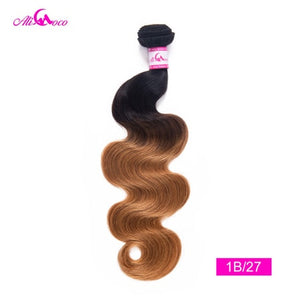 Malaysian Omber Hair Bundles 1/3/4 Bundles 8-30 inch Body Wave