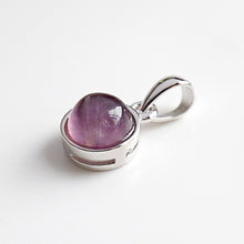 Load image into Gallery viewer, Sterling Silver Natural Gem Pendants
