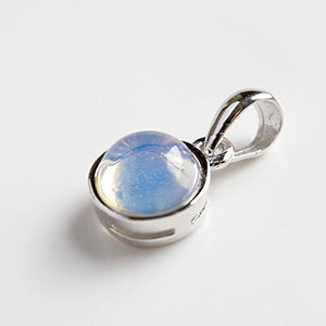 Sterling Silver Natural Gem Pendants