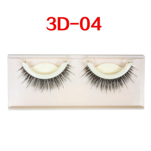 Mink Natural Curly Eyelashes