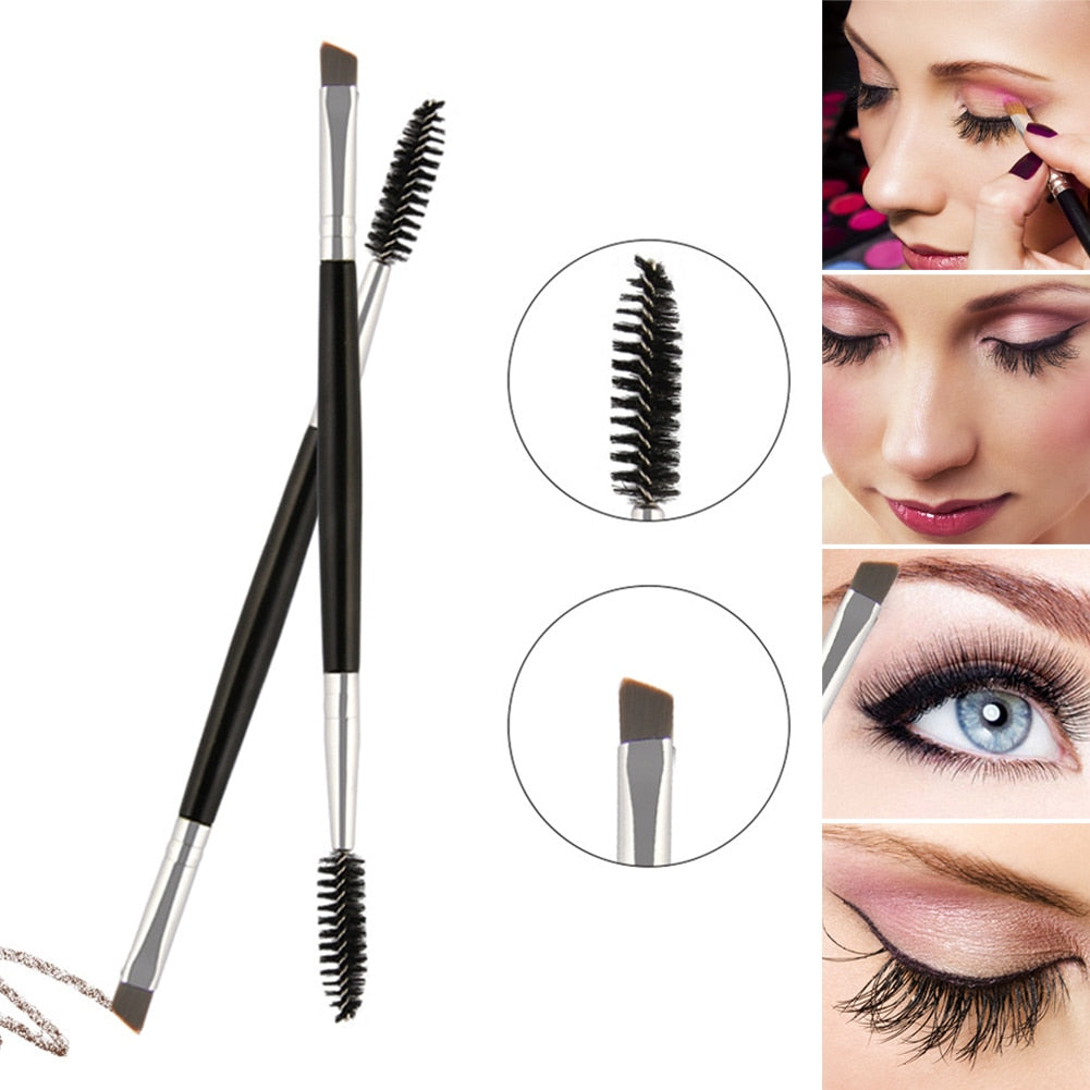 Eyelash & Eyebrow  Beveled Spiral Brush