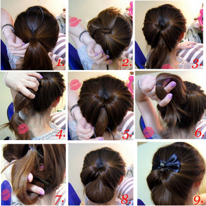 2pcs set  Ponytail Hair Needles