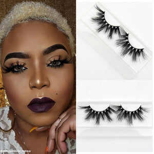 Dramatic Mink Lashes - Soft Light Weight Crisscross Full Volume Long Lashes