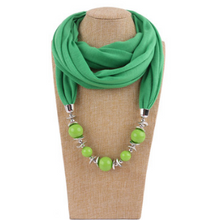 Load image into Gallery viewer, Unique Boho Scarf Necklaces