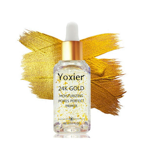 24k Gold Invisible Moisturizing  Foundation Primer with Oil Control