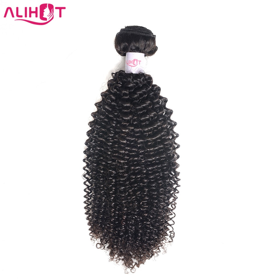 Brazilian Kinky Curly Hair Wave Bundles 8-26 inch -  100% Remy Human
