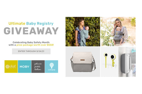 giveaway, baby month, baby safety, September, lillebaby, baby registry, complete carrier