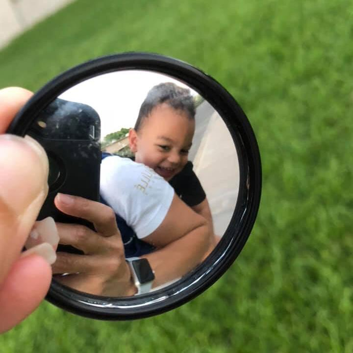Retractable Mirror