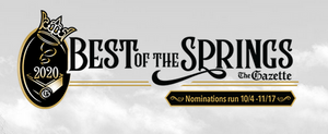 Best of the Springs - 2020 - Nominations are NOW being accepted!