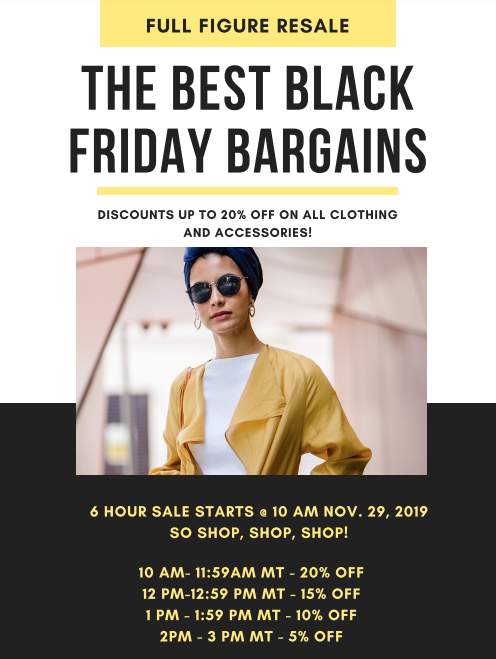 ONLINE - Black Friday Sale!