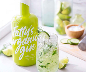 Case of 6 Fatty's Organic Gin 70cl | 40% Vol